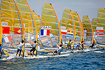 ISAF Sailing World Cup Hyères - Fédération Française de Voile. RSXM