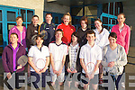 BADMINTON: Competing in the Kerry Badminton Association division 5 Mixed Doubles Shield at the Tralee Sports Complex on Sunday front l-r: Christine Underwood, Mairead Collins, James Pearce, Gavin Molyneaux, Conor Dillon and Evelyn Doona. Back l-r: Kate Lawlor, Dolores Prendervillie, Rita McCarthy, Darina Stack, Susan Broderick, Chloe Daly and Niamh Condren.