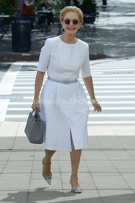 WWW.ACEPIXS.COM<br /> September 3, 2014 New York City<br /> <br /> Carolina Herrera is honored With 2014 Couture Council Award Luncheon Benefit For The Museum At FIT in New York City on September 3, 2014.<br /> <br /> By Line: Kristin Callahan/ACE Pictures<br /> ACE Pictures, Inc.<br /> tel: 646 769 0430<br /> Email: info@acepixs.com<br /> www.acepixs.com