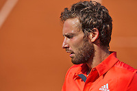 France, Paris , May 24, 2015, Tennis, Roland Garros, Ernest Gulbis (LAT)<br /> Photo: Tennisimages/Henk Koster