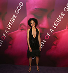 Lauren Ridloff attends the Broadway Opening Night After Party for 'Children of a Lesser God' at Edison Ballroom on April 11, 2018 in New York City.