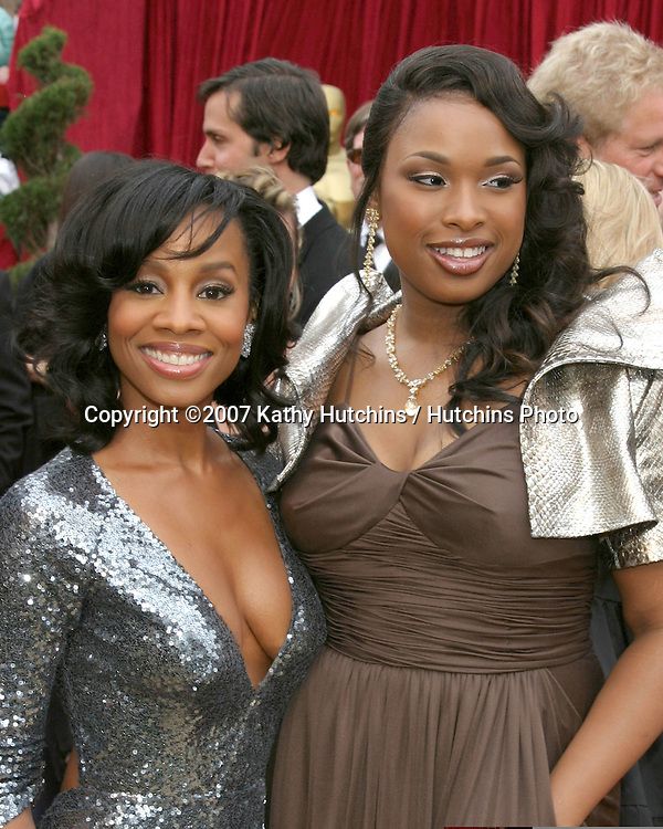 Anika Noni Rose & Jennifer Hudson.79th Annual Academy Awards.Kodak Theater .Hollywood & Highland.Hollywood, CA.February 25, 2007.©2007 Kathy Hutchins / Hutchins Photo....