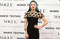 Miranda Makaroff at Vogue December Issue Mario Testino Party