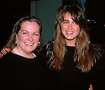 Brooke and Lila Shields with mom Teri Shields in New York City. 1984..