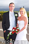 Niamh Fitzmaurice daughter of Brendan and Philomena, Banna, Ardfert and Martin Nagle son James and the late Kathleen, Ballygamboon, Castlemaine, who were married on Friday at the St Brendan's Church, Ardfert. Fr Tadgh Fitzgerald officiated at the ceremony. Bestman was Brian Nagle (grooms brother) and groomsman was Raymond Fitzmaurice. Bridesmaids were Deirdre Brick and Doreen O'Sullivan. Flowergirls were Ciara and Gemma Smith. Pageboys were Oisin Nagle and Roan Fitzmaurice. The reception was held at the Ballyroe Heights hotel, Tralee and the couple will reside in Rusheen, Castlemaine.