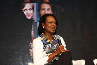 ATENÇÃO EDITOR: FOTO EMBARGADA PARA VEÍCULOS INTERNACIONAIS. SAO PAULO, SP, 04 DE DEZEMBRO DE 2012. EVENTO WOMEN IN THE WORLD. A ex secretaria de estado  dos Estados Unidos, Condoleezza Rice, durante o evento Women In the world promovido pela marca Wella. Criado pela renomada jornalista americana Tina Brown, da revistaNewsweek, o encontro internacional contará histórias inspiradoras de mulheres de culturas e origens diferentes que lutam contra a injustiça em seus países e buscam soluções para mudar sua realidade. O evento aconteceu na Casa Fasano, na tarde desta terça feira na zona sul da capital paulista. FOTO ADRIANA SPACA - BRAZIL PHOTO PRESS durante o evento Women In the world promovido pela marca Wella. Criado pela renomada jornalista americana Tina Brown, da revistaNewsweek, o encontro internacional contará histórias inspiradoras de mulheres de culturas e origens diferentes que lutam contra a injustiça em seus países e buscam soluções para mudar sua realidade. O evento aconteceu na Casa Fasano, na tarde desta terça feira na zona sul da capital paulista. FOTO ADRIANA SPACA - BRAZIL PHOTO PRESS