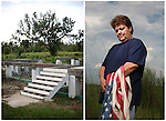 Residents of Hancock County stayed as rescue and recovery volunteers in Bay St. Louis, Mississippi during Hurricane Katrina. Five years later the storm is close to home.