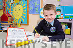 Daragh Keane Kilcummin NS who won 2nd place in the An Post/INTO handwriting competition