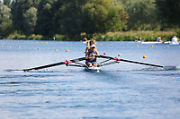 Race: 37  W.2x (Band 3)  Heat 2<br /> <br /> Peterborough Summer Regatta 2018 - Saturday<br /> <br /> To purchase this photo, or to see pricing information for Prints and Downloads, click the blue 'Add to Cart' button at the top-right of the page.