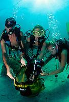 Reef cleanup, Florida Keys