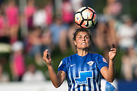 Allston, MA - Saturday August 19, 2017: Katie Stengel during a regular season National Women's Soccer League (NWSL) match between the Boston Breakers and the Orlando Pride at Jordan Field.