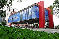 Museu de Arte de São Paulo, MASP, na Avenida Paulista. São Paulo. 2010. Foto de Juca Martins.