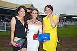 Enjoying Ladies Day at the Listowel Races on Friday were: Danielle Guerin, Mairead Fitzgerald and Yvonne Rice from Ballyheigue