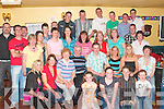 Seamus Finnegan, from Templeglantine seated fourth from right, celebrated his 30th birthday with family and friends in Donal and Ann's bar Abbeyfeale on Friday night..   Copyright Kerry's Eye 2008