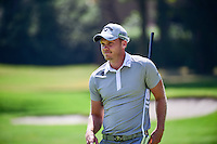 Danny Willett (ENG) after sinking his putt on 1 during round 1 of the World Golf Championships, Mexico, Club De Golf Chapultepec, Mexico City, Mexico. 3/2/2017.<br /> Picture: Golffile | Ken Murray<br /> <br /> <br /> All photo usage must carry mandatory copyright credit (&copy; Golffile | Ken Murray)