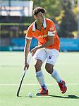 BLOEMENDAAL   - Hockey -  2e wedstrijd halve finale Play Offs heren. Bloemendaal-Amsterdam (2-2) . A'dam wint shoot outs. Glenn Schuurman (Bldaal) . COPYRIGHT KOEN SUYK