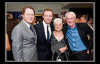 Robert Elms (broadcaster, journalist & author) Gary Kemp (Spandau Ballet) Stan Bowles (footballer) & Breda his partner at Robert Elms' 50th Birthday Party - Groucho Club, Dean Street, London - 13th June 2009