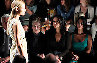 Michael Douglas and Catherine Zeta-Jones and Olivia Munn attend the Michael Kors show Collection Spring 2013 Mercedes-Benz Fashion Week Show at The Lincoln Center in New York, United States. 12/09/2012. Photo by Kena Betancur/VIEWpress.