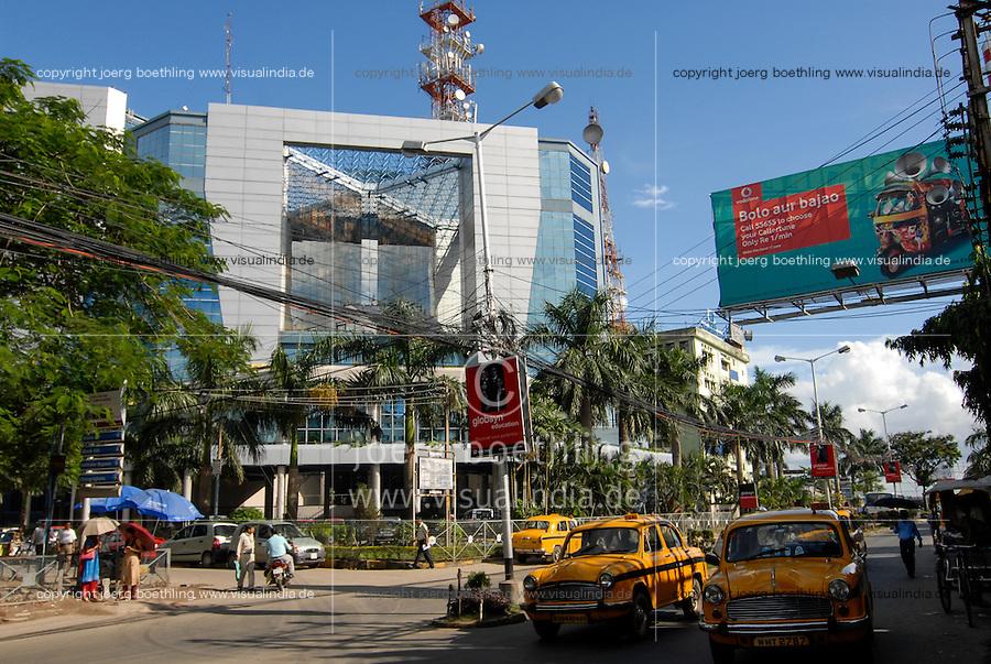 INDIA Westbengal Calcutta Kolkata, Salt Lake Sector V , the new IT Hub with companies like BPO, call center, software development , technology and communication / Indien Westbengalen, Megacity Kolkata Kalkutta , Salt Lake - Sector V , ein neues Zentrum der Informationstechnologie Kommunikation BPO Callcenter und Software-Entwicklung