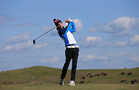 David Hague during Round Two of the West of England Championship 2016, at Royal North Devon Golf Club, Westward Ho!, Devon  23/04/2016. Picture: Golffile | David Lloyd<br /> <br /> All photos usage must carry mandatory copyright credit (&copy; Golffile | David Lloyd)