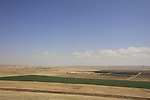Israel, Negev. The view east of Tel Arad