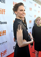 12 September  2018 - Toronto, Ontario, Canada. Hilary Swank . &quot;What They Had&quot; Premiere - 2018 Toronto International Film Festival at the Roy Thomson Hall. <br /> CAP/ADM/BPC<br /> &copy;BPC/ADM/Capital Pictures