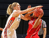 March 21, 2011Charlottesville, Va. Maimi plays Gardner webb in the second round of the NCAA women's college basketball tournament. (AP Photo/ Andrew Shurtleff)