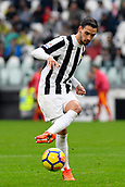 5th November 2017, Allianz Stadium, Turin, Italy; Serie A football, Juventus versus Benevento; Mattia De Sciglio plays the ball