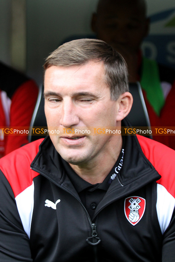 Rotherham United manager Alan Stubbs during Norwich City vs Rotherham United, Sky Bet EFL Championship Football at Carrow Road on 15th October 2016