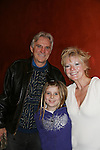 Ellen Dolan - As The World Turns poses with her daughter Angela and significant other Doug Jeffrey as Ellen stars in The Body Shop on Dec. 18, 2009 as The Workshop Theater Company presents Cold Snaps at the Jewel Box Theatre, New York City, New York - Nine Short Plays to Warm the Warm December Night. (Photo by Sue Coflin/Max Photos)