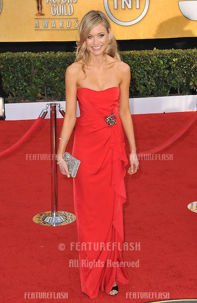 Katrina Bowden at the 17th Annual Screen Actors Guild Awards at the Shrine Auditorium..January 30, 2011  Los Angeles, CA.Picture: Paul Smith / Featureflash.January 30, 2011  Los Angeles, CA.Picture: Paul Smith / Featureflash