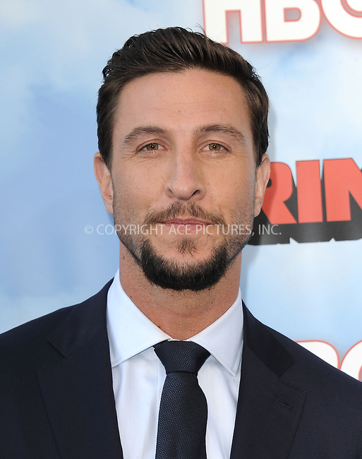 WWW.ACEPIXS.COM<br /> <br /> June 8 2015, Hollywood Ca<br /> <br /> Pablo Schreiber arriving at HBO's Brink premiere on June 8, 2015 at the Paramount Theater in Hollywood Ca.<br /> <br /> Please byline: Peter West/ACE Pictures<br /> <br /> ACE Pictures, Inc.<br /> www.acepixs.com<br /> Email: info@acepixs.com<br /> Tel: 646 769 0430