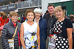 Enjoying Ladies Day at the Listowel Races on Friday were: Eileen Curley, Kathleen Lehane, Maura Kelly, Mark McDonough, Lucy Crowe.