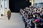 March 20th, 2012: Tokyo, Japan  A model walks down the catwalk wearing MATOHU during Mercedes-Benz Fashion Week Tokyo 2012 - 13 Autumn/Winter. The Mercedes-Benz Fashion Week Tokyo runs from March 18-24. (Photo by Yumeto Yamazaki/AFLO).