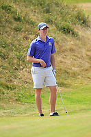 Eoin Cunniffe (AES) on the 14th during Round 2 - Strokeplay of the North of Ireland Championship at Royal Portrush Golf Club, Portrush, Co. Antrim on Tuesday 10th July 2018.<br /> Picture:  Thos Caffrey / Golffile