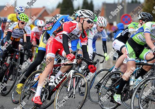 2015-02-28 / Wielrennen / seizoen 2015 / Junioren Rijkevorsel / Seppe Lannoo<br /><br />Foto: Mpics.be
