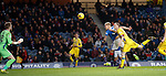 Martyn Waghorn scores the second goal for Rangers