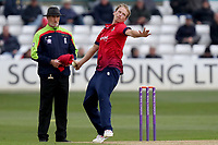Tom Westley in bowling action for Essex during Essex Eagles vs Gloucestershire, Royal London One-Day Cup Cricket at The Cloudfm County Ground on 7th May 2019