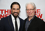 "Will Swenson and Terrence Mann attends the Off-Broadway Opening Night Premiere of  ""Jerry Springer-The Opera"" on February 22, 2018 at the Roundabout Rehearsal Studios in New York City."