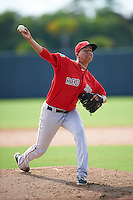 Boston Red Sox pitcher Bryan Mata (70) during an Instructional League game against the Minnesota Twins on September 24, 2016 at CenturyLink Sports Complex in Fort Myers, Florida.  (Mike Janes/Four Seam Images)
