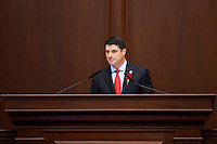TALLAHASSEE, FLA. 3/3/15- during the opening day of the 2015 Legislative Session Tuesday at the Capitol in Tallahassee.<br /> <br /> COLIN HACKLEY PHOTO