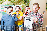 St John of God's clients taking part in Movember Raising Funds and Awareness for Men's Health pictured Pictured l-r  Jimmy Moore, Paul Scanlon, Stephen Roche and Tim Heffernan