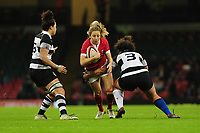 Elinor Snowsill of Wales in action during the International friendly match between Wales and Barbarians at the Principality Stadium in Cardiff, Wales, UK. Saturday 30 November 2019