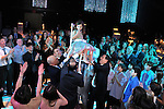 Bat Mitzvah gala party and hora at the Black Box at Suny Purchase, Westchester, New York..