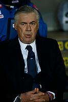 Carlo Ancelotti coach of Napoli   during the  italian serie a soccer match,Atalanta - SSC Napoli at  the Atleti azure d'italia   stadium in Bergamo Italy , December 03, 2018