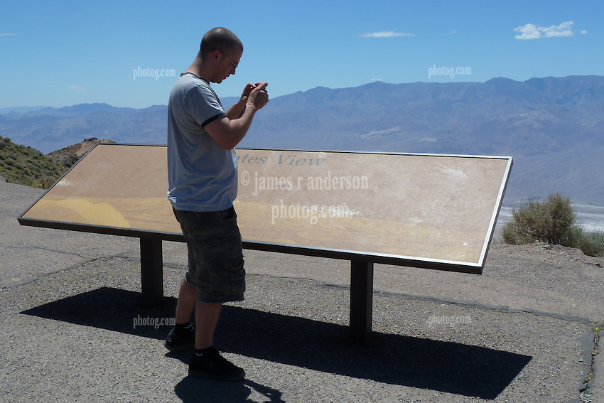Atop Dantes Peak, Death Valley, California