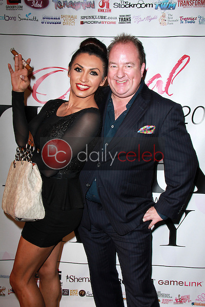 Jessy Dubai, Steven Grooby<br /> at the 2015 Transgender Erotica Awards Official After Party, Bardot, Hollywood, CA 02-16-15<br /> David Edwards/DailyCeleb.Com 818-249-4998