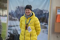 SPEED SKATING: COLLALBO: Arena Ritten, 12-01-2019, ISU European Speed Skating Championships, Berri de Jonge (ISU Referee), ©photo Martin de Jong
