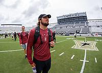 Orlando, FL - September  13, 2019:  Stanford Football has a walk-around at Spectrum Stadium.