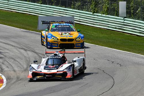 #7 Acura Team Penske Acura DPi, P: Helio Castroneves, Ricky Taylor, #96 Turner Motorsport BMW M6 GT3, GTD: Robby Foley, Bill Auberlen